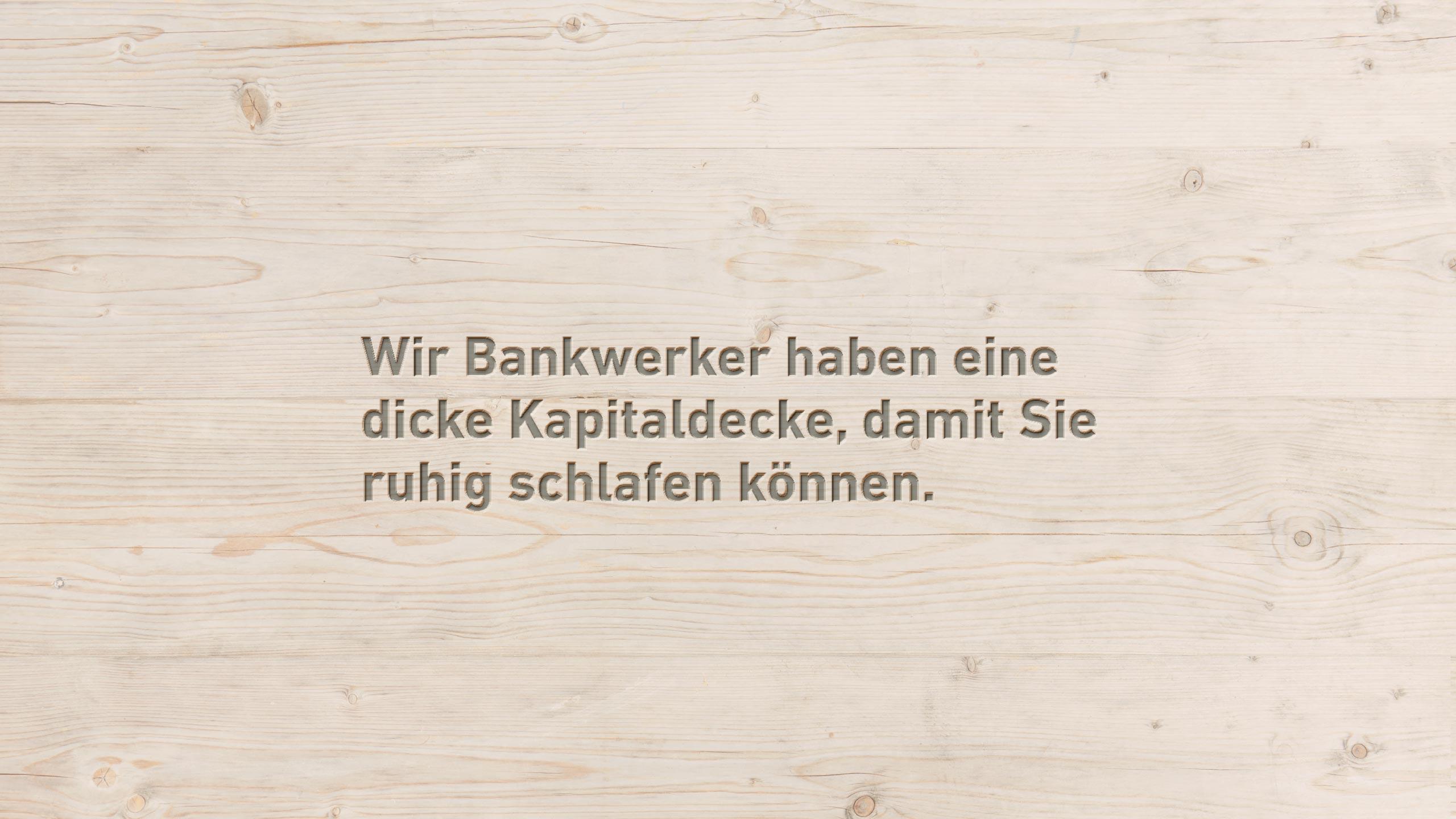 Konten - Bank Thalwil - die Bankwerker